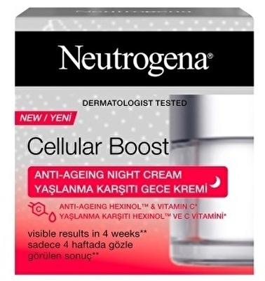 Neutrogena Neutrogena Cellular Boost Yaşlanma Karşıtı Gece Kremi 50 Ml Renksiz